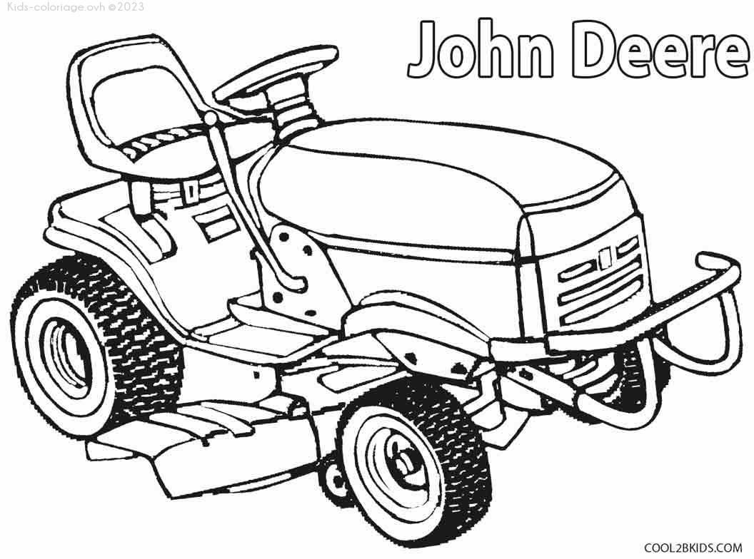 Coloriage à imprimer tracteur-ferme-coloriage-10
